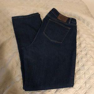 Ralph Lauren curvy bootcut jeans 14W